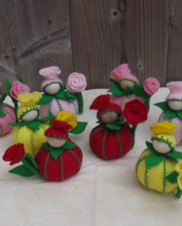 Bloemenpopjes